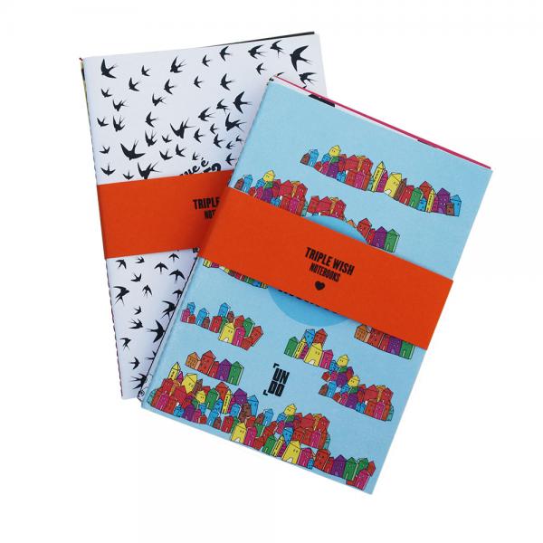 Triple Wish Notebooks