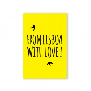 Postal From Lisboa With Love