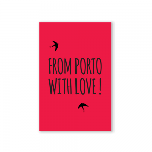 From Porto with Love Postcard